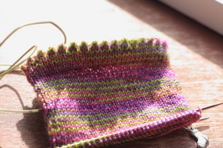lilac-sock-progress