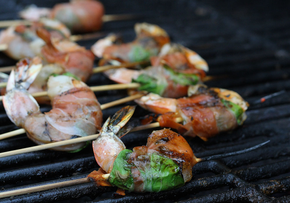 grilled shrimp ...