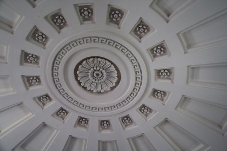 presidents church ceiling