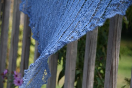 celtic hearts shawl twisted in the wind