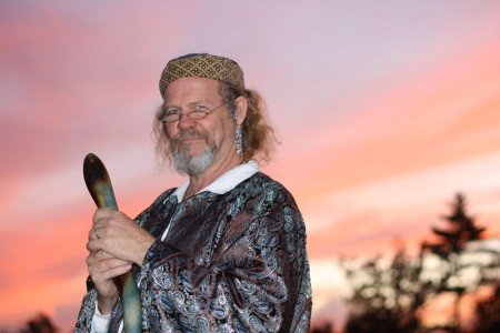 dale the wizard at sunset