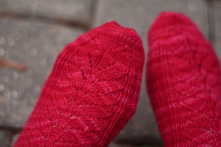 mystery sock toes