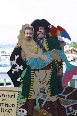 Dale the Pirate and Ambrynn the Mermaid