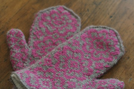 end of may mittens pair