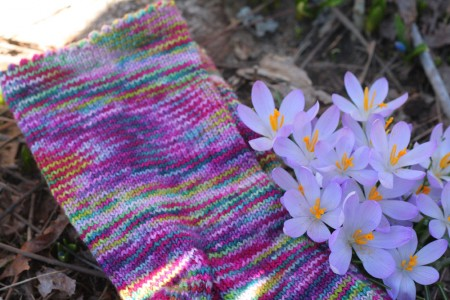 Secret Garden Socks 2