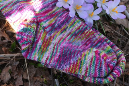 Secret Garden Socks 3