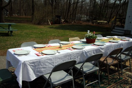 easter table outside resized for blog