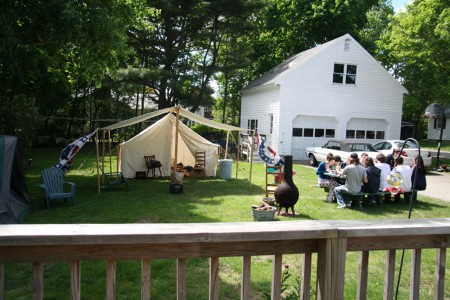 After Prom Camp Out Setup blog size