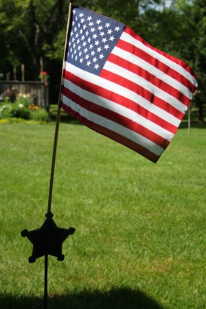Memorial Day Flag blog size