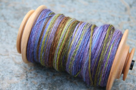 Five Plum Pie Falklands Wool Top blog size