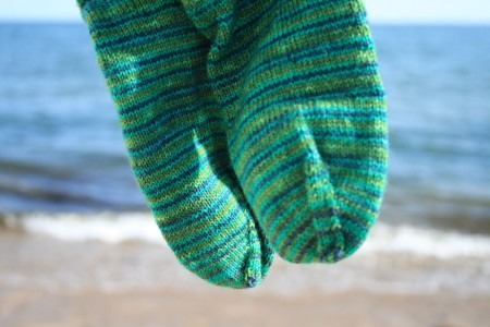 South Cape Beach Socks waves in background blog size
