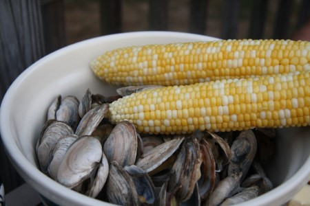 Steamers and Corn blog size