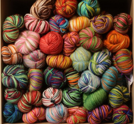 38 Skeins of Vesper Sock Yarn blog size