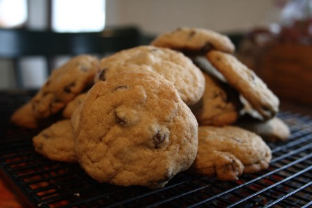Chocolate Chip Cookies blog size