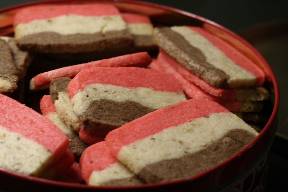 Neapolitan Cookies I Recipe — Dishmaps