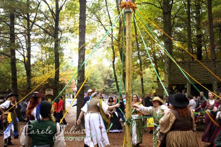 maypole dancers for carole knits