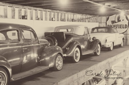 cars upstairs for carole knits