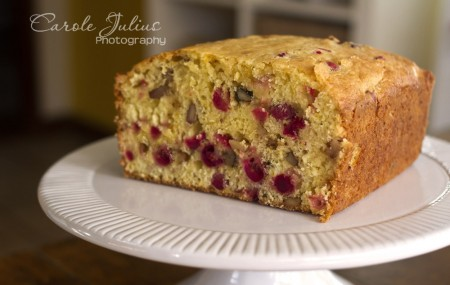 cranberry orange bread for carole knits