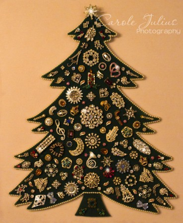 jewelry christmas tree for carole knits