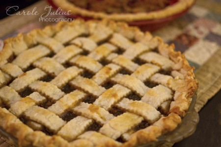 mincemeat pie for carole knits