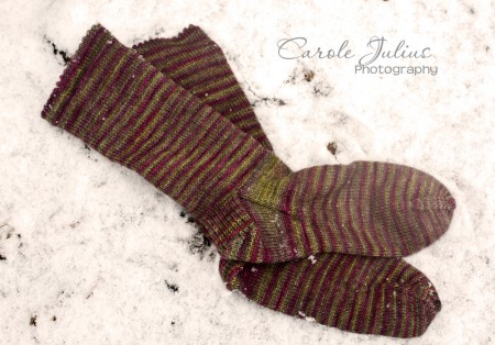 november socks for carole knits