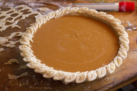pumpkin pie unbaked for carole knits