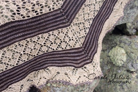 germinate shawl 2 for carole knits