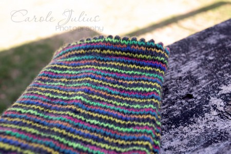 mexico socks cuff for carole knits