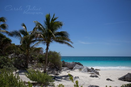 tulum ruins beach for carole knits