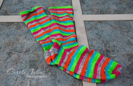 april socks for carole knits