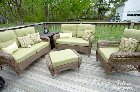 new deck furniture for carole knits