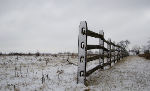 gettysburg fence for