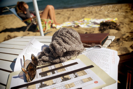 beach knitting for carole knits