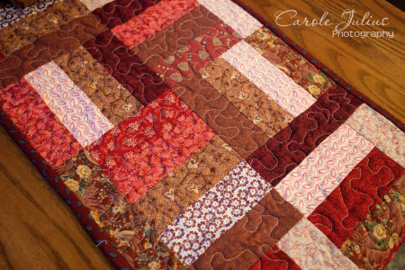 red table runner 2 for carole knits