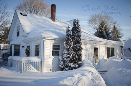 after feb 1 snowstorm for carole knits