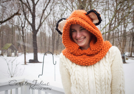 fox hood 3 for carole knits