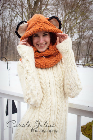 fox hood fav for carole knits