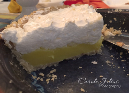 lemon meringue pie for carole knits