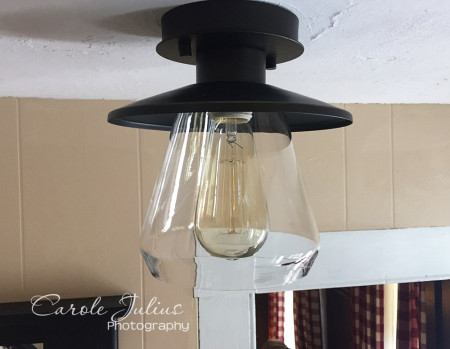 new light fixture for carole knits