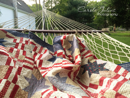quilt and hammock for carole knits