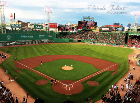 fenway park for carole knits