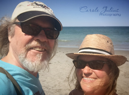nantasket beach selfie for carole knits