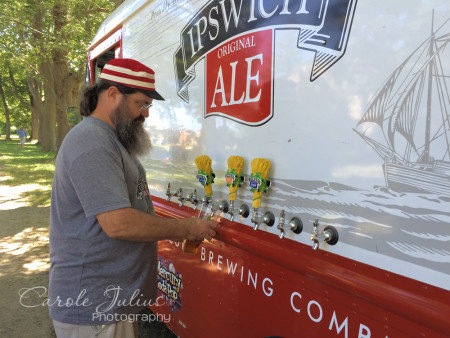 beer truck for carole knits