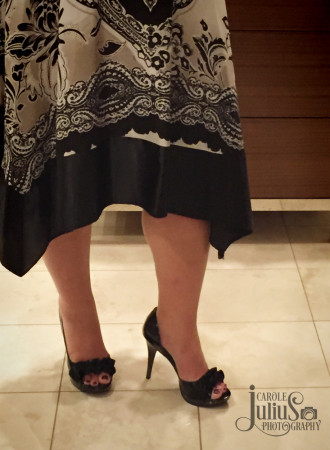 shoes selfie for carole knits