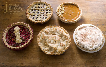 thanksgiving pies 2015 for carole knits