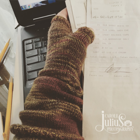 fingerless mitts for carole knits