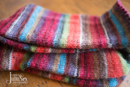 striped socks 2016 for carole knits