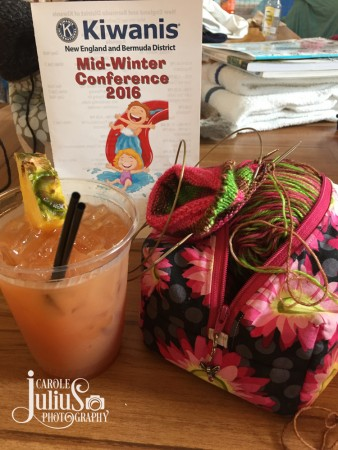 knitting and hurricane for carole knits