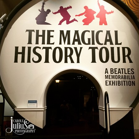 magical history tour sign for carole knits
