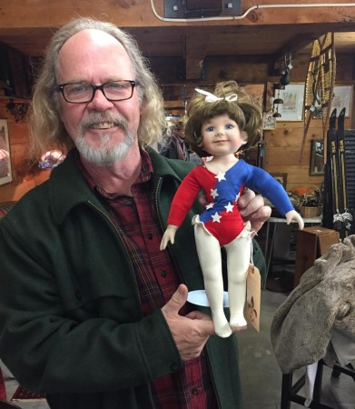 dale with doll